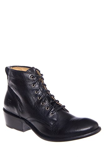 Carson Lace-Up Low Heel Boot