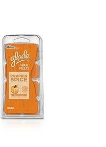 New Johnson Glade Wax Melts Pumpkin Spice , 8 Ct.