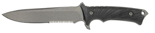 Gerber 30-000183 LHR Knife, Serrated Edge
