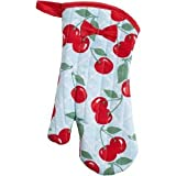 Jessie Steele Print Oven Mitt - Kitchen Cherry