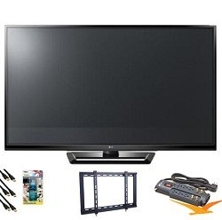 LG 42PA4500 42 Class Plasma 720p HD TV Value Bundle