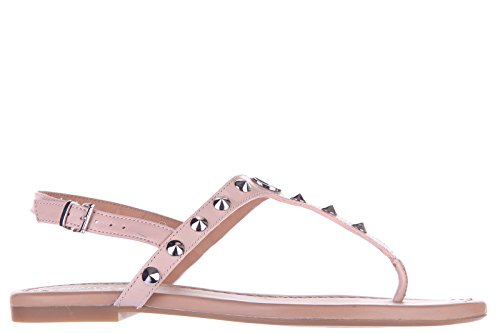 Armani Jeans infradito donna in pelle studs rosa EU 37 C5747 17 34