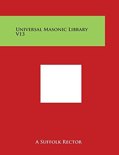 Universal Masonic Library V13