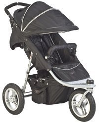 Valco Baby Single Tri-Mode EX Stroller in Raven