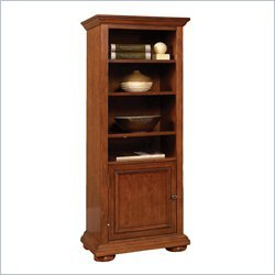 Home Styles 5527-13 Homestead Pier Cabinet, Distressed Warm Oak Finish