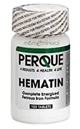 Hematin Anemia Guard 100 Tablets by Perque