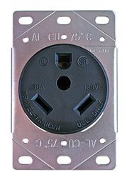 Progressive Industries TT30DFR RV Receptacle