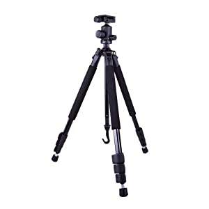 Dolica Proline GX Series Aluminum Tripod and Ball Head Combo for DSLR, SLR