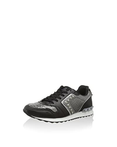 XTI Sneaker [Argento/Nero]