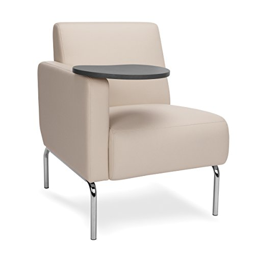 OFM 3001RT PU609 TG Triumph Series Right Arm Modular Lounge Chair with Tungst