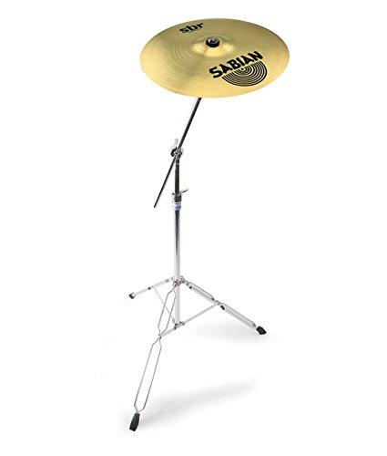 Sabian-16-SBR-Crash-Cymbal-Mapex-Tornado-Cymbal-Stand