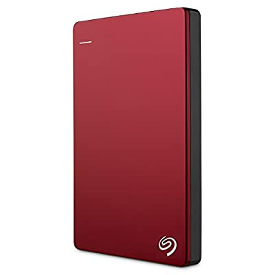 Seagate Backup Plus Slim 1TB Portable External Hard Drive with 200GB of Cloud Storage & Mobile Device Backup USB...