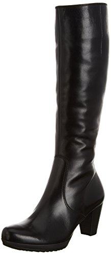 Gabor Willow Slim L, Damen Stiefel, Schwarz (Black Leather (Micro)) , 40.5 EU