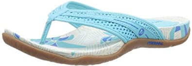 Merrell Women's Lorelei Thong Sandal,Blue,5 M US
