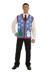 Funny Christmas Mug-Ugly Christmas Sweater Christmas Costume Choose Your Style (Snowflake Vest)