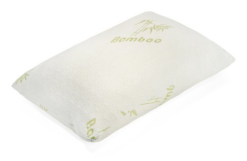 Memory Foam Pillow With Removable Bamboo Cover (King) front-441284