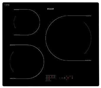 brandt ti118b table de cuisson induction 60 cm 3 zones noir gros lectrom nager. Black Bedroom Furniture Sets. Home Design Ideas