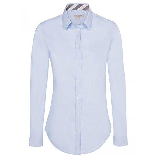 BURBERRY Camicia Donna Manica Lunga Colore Celeste (S)