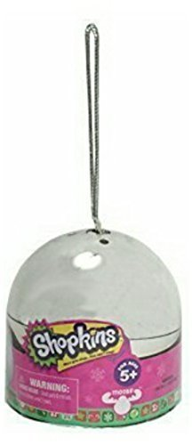 Shopkins Holiday 2015 Metallic Bauble Limited Edition Ornament (Silver, Gold, Red)