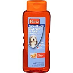 Hartz Case Of 4X3_ Advanced Care 2In1 Flea And Tick Dog Shampoo 18OZ (Pack of 12)