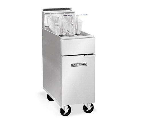 American Range AF35-50 LP Heavy Duty Restaurant Fryer, Liquid Propane (Commercial Restaurant Stoves compare prices)