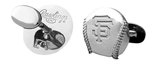 MLB San Francisco Giants Engraved Cuff Links