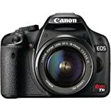 Best Digital SLR Cameras Overall Under $800: Canon EOS Rebel T1i (with 18-55mm IS Lens)