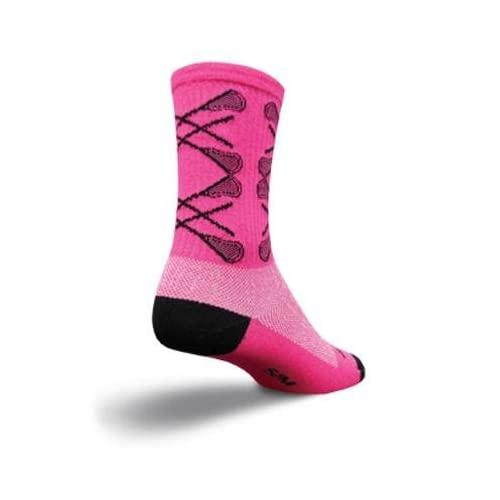 SockGuy Crew 6in LAX Argyle Lacrosse Socks