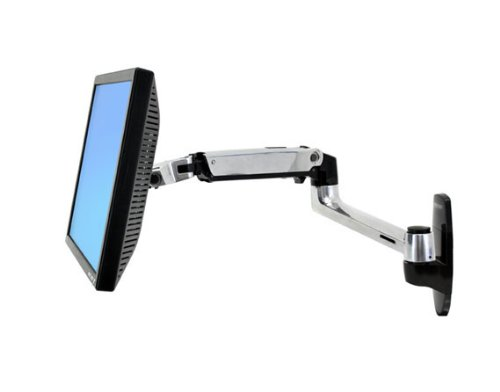 Ergotron LX Wall Mount LCD Arm - Mounting kit ( articulating arm, mounting ba...