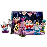 Alice in Wonderland Figurine Playsceen Set -- 6-Pc.