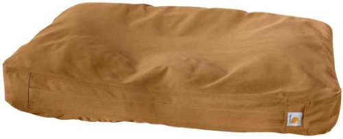Carhartt Men's Canvas Duck Dog Bed Brown One