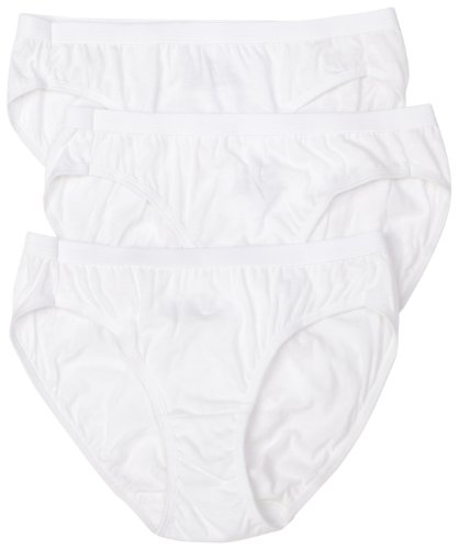 Hanes Women's Cotton Classics 3-Pack Bikini Panties