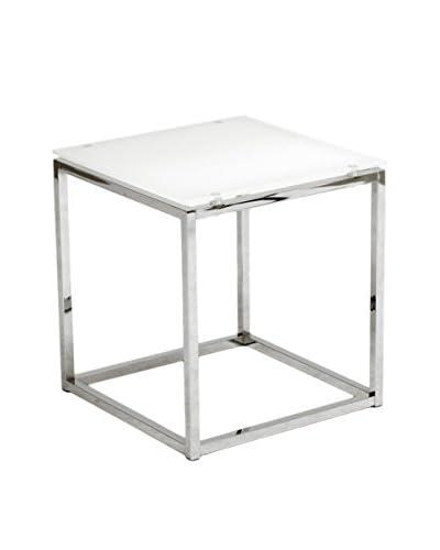 Eurostyle Sandor Side Table, Pure White