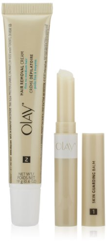 Olay Smooth Finish Facial Hair Removal Duo Fine to Medium Hair 1 Kit (Smooth Hair Wax compare prices)