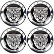 4 X NEW JAGUAR BLACK ALLOY WHEEL CENTRE CAPS 59MM XJ XJR XJ6 XF X S TYPE