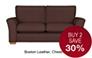 Lincoln Large Sofa - Leather