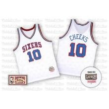 Philadelphia 76ers Authentic Maurice Cheeks #10 Jersey 52 by Mitchell & Ness
