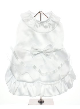 UrbanPup Bride Wedding Dress with Veil - Large
