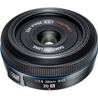 Samsung 20mm NX Pancake lens for NX Series Cameras by Samsung