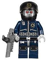 LEGO The Movie LOOSE Minifigure Robo SWAT