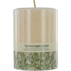 TOASTED VANILLA SCENTED by Toasted Vanilla Scented ONE 3x4 inch PILLAR, CANDLE. MADE OF PURE VEGETABLE WAX AND COTTON WICKING FOR A CLEAN AND FRAGRANT BURN. BURNS APPROX. 60 HRS