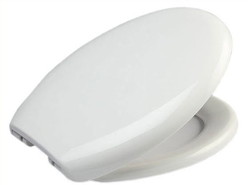 Strong Oval Shaped Soft Close Toilet Seat with 5 Year Guarantee