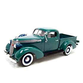diecast car of Studebaker 1937 pickup express truck