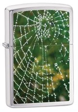 Spider Web Zippo Feuerzeug * Kostenlose Gravur