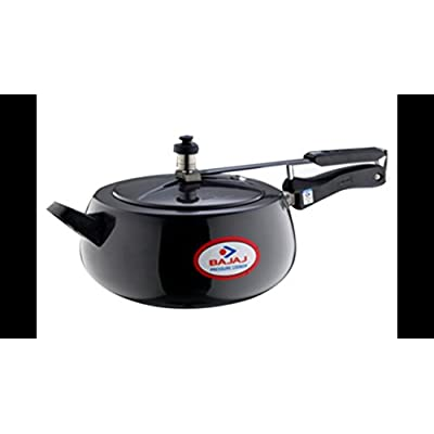 Bajaj Induction Base Anodized Handi, 5 Litres, Black
