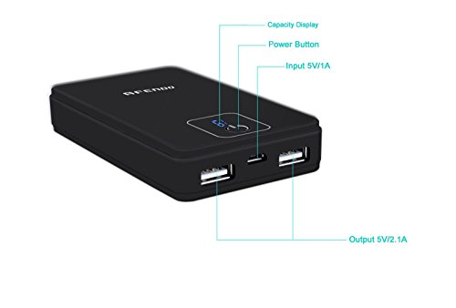 Afendo 6600mAh Dual USB Power Bank