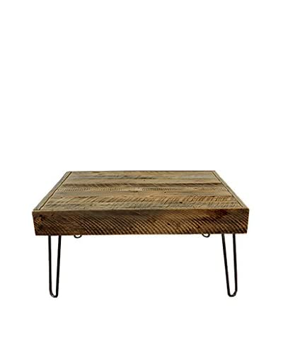 Bambeco Reclaimed Wood Square Coffee Table 40