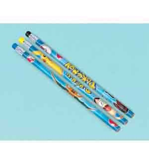 Pokemon Pikachu And Friends Pencils [Contains 4 Manufacturer Retail Unit(s) Per Amazon Combined Package Sales Unit] - SKU# 394437