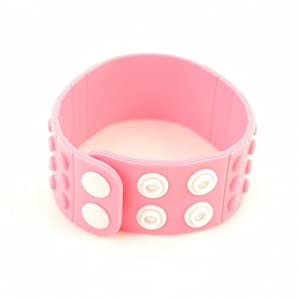 P&o Fashion Man Woman Silicone Replaceable Wrist Watch Band Hermosa Pink