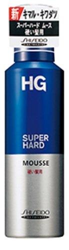 HG スーパーハードムース 硬い髪用a 180g